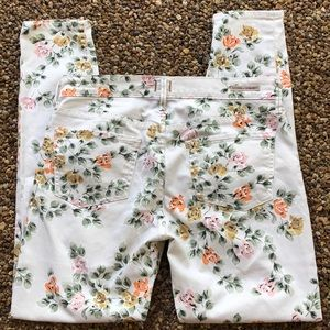 Citizens of Humanity Thompson floral Jeans EUC 29